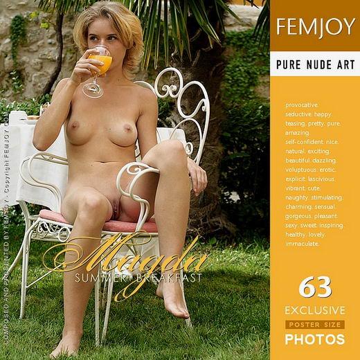 Magda - `Summer Breakfast` - for FEMJOY