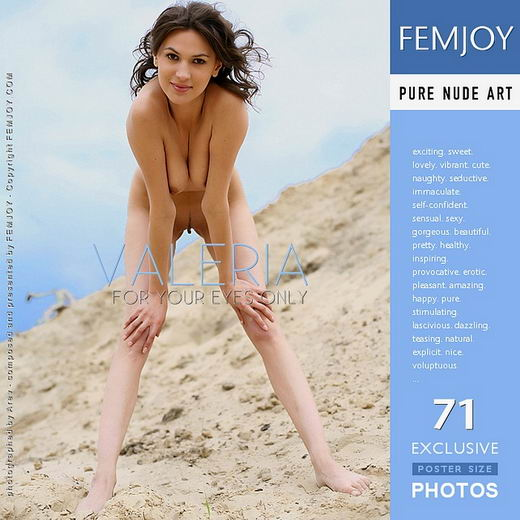 Valeria - `For Your Eyes Only` - by Anry V for FEMJOY