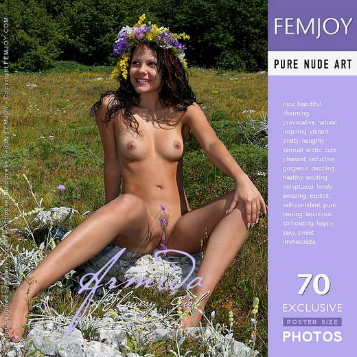 Armida - `Flowery Girl` - by Valery Anzilov for FEMJOY