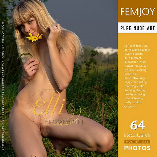 Elli - `Flower Girl` - by Arev for FEMJOY