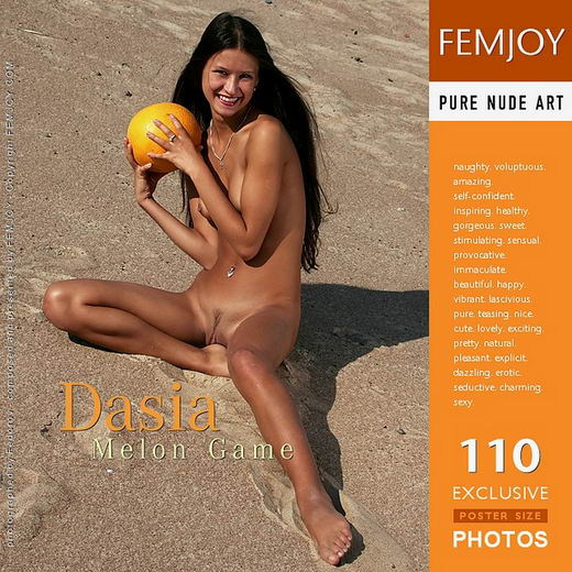 Dasia - `Melon Game` - by Alexander Fedorov for FEMJOY