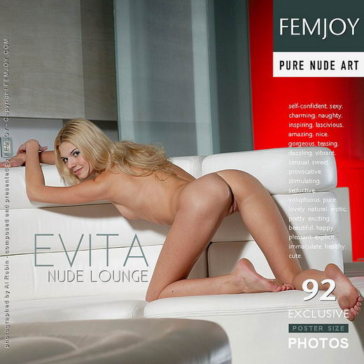 Evita - `Nude Lounge` - by Al Rubin for FEMJOY