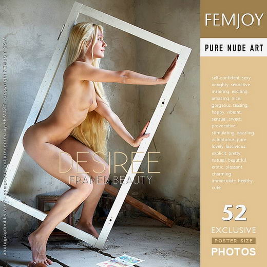 Desiree - `Framed Beauty` - by Arev for FEMJOY