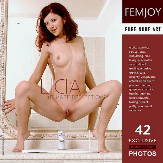 Licia - `Intimate Reflections` - for FEMJOY