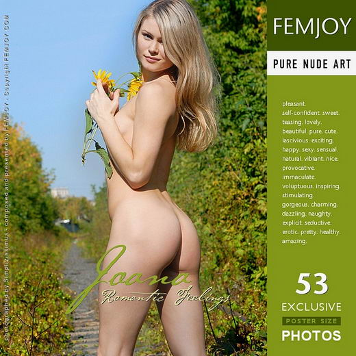 Joane - `Romantic Feelings` - by Simplizissimus for FEMJOY