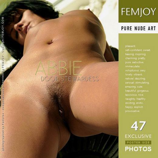 Abbie - `Door Stewardess` - by Alexander Fedorov for FEMJOY