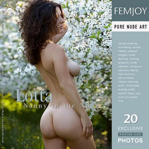 Lotta - `Nanny in the Nude` - by Stefan Soell for FEMJOY