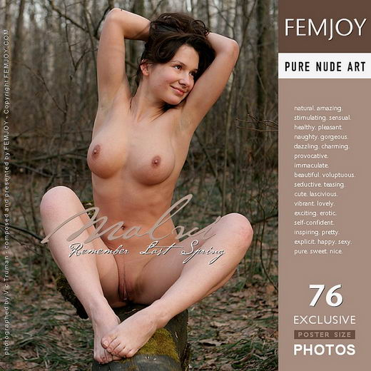 Malvi - `Remember Last Spring` - by Vic Truman for FEMJOY