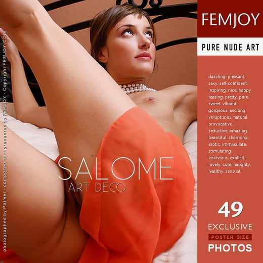 Salome - `Art Deco` - by Palmer for FEMJOY