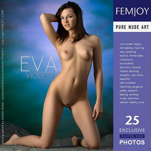 Eva - `Violett` - by Stefan Soell for FEMJOY