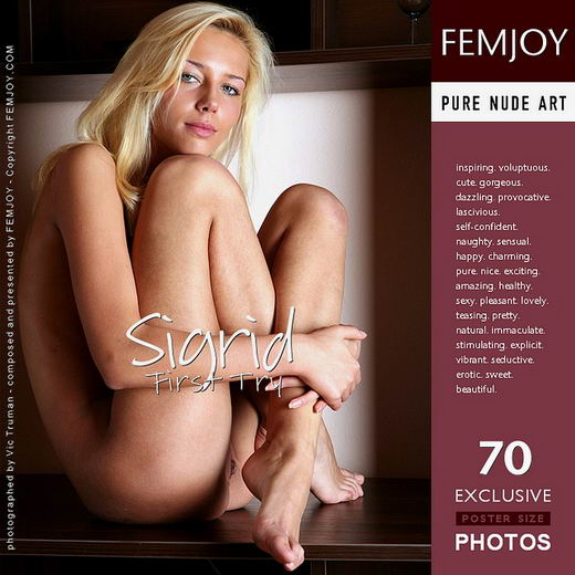 Sigrid - `First Try` - by Vic Truman for FEMJOY