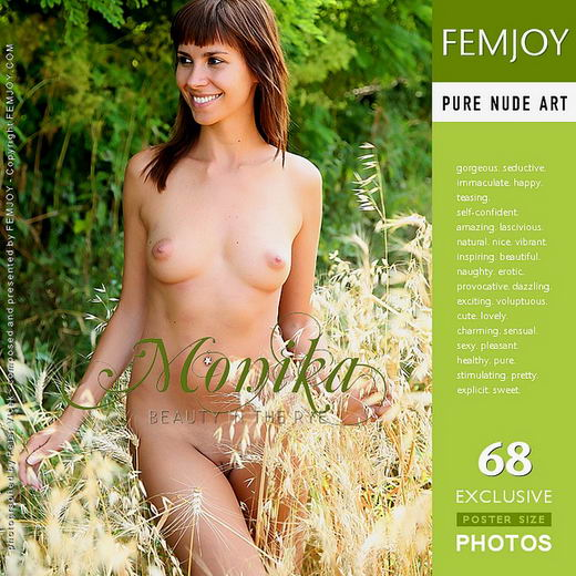 Monika - `Beauty in the Rye` - by Peter Vlcek for FEMJOY