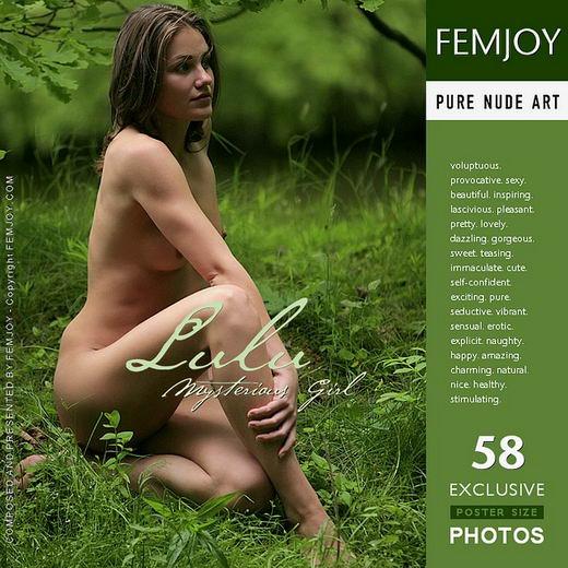 Lulu - `Mysterious Girl` - for FEMJOY