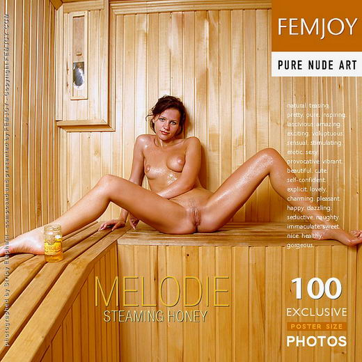 Melodie - `Steaming Honey` - by Stripy Elephant for FEMJOY
