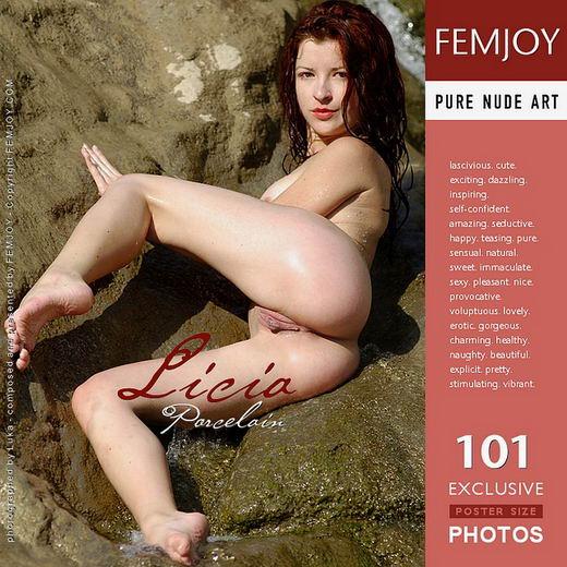Licia - `Porcelain` - for FEMJOY