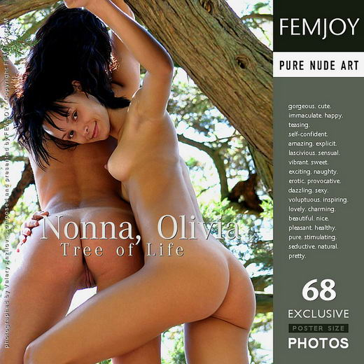 Nonna, Olivia - `Tree of Life` - by Valery Anzilov for FEMJOY