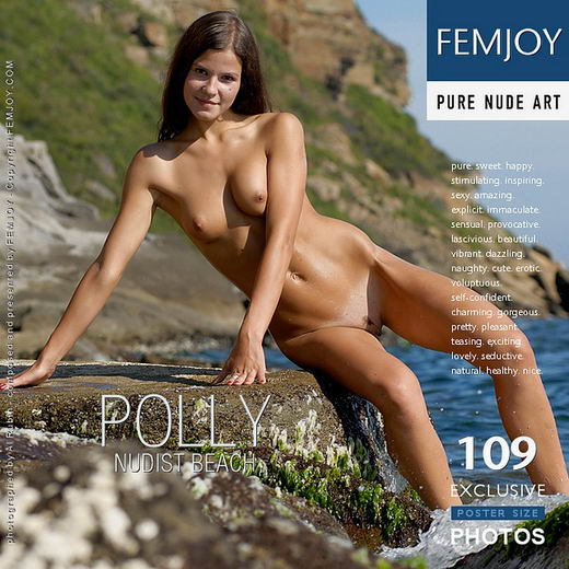 Polly - `Nudist Beach` - by Al Rubin for FEMJOY