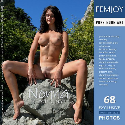 Nonna - `First Timer` - by Valery Anzilov for FEMJOY