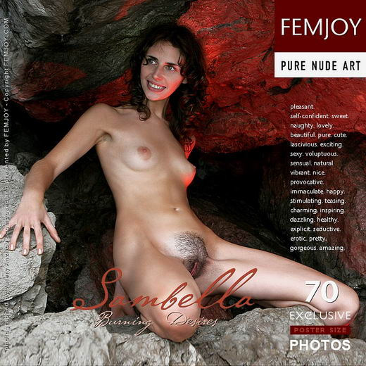 Sambella - `Burning Desires` - by Valery Anzilov for FEMJOY