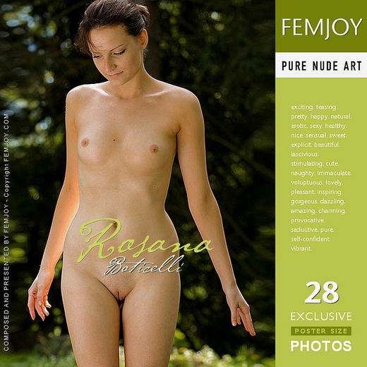 Rosana - `Boticelli` - for FEMJOY