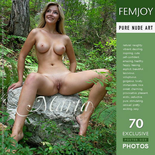 Marta - `In the Woods` - by Valery Anzilov for FEMJOY
