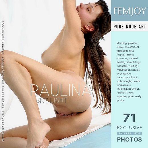 Paulina - `Sky Light` - by Luka for FEMJOY