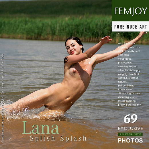 Lana - `Splish Splash` - by Oleg for FEMJOY