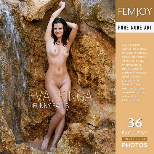 Eva, Kinga - `Funny Falls` - by Guido Beer for FEMJOY