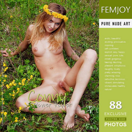 Conny - `Flower Power` - by Georg for FEMJOY