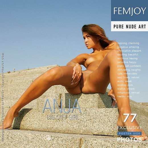 Anja - `Big City Girl` - by Alexander Fedorov for FEMJOY