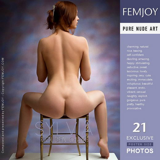 Sylvia - `Golden Chair` - by Stefan Soell for FEMJOY
