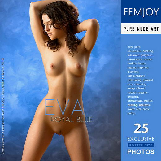 Eva - `Royal Blue` - by Stefan Soell for FEMJOY