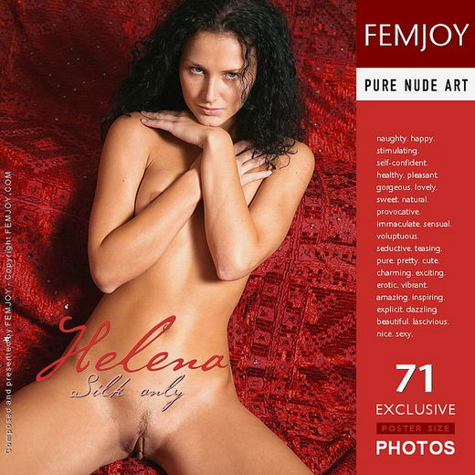 Helena - `Silk Only` - by Peter Vlcek for FEMJOY