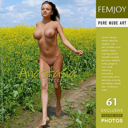 Anastasia - `Spirit of Freedom` - for FEMJOY
