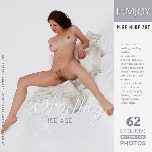 Ornella - `Ice Age` - by Valery Anzilov for FEMJOY