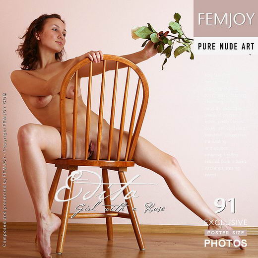 Edita - `Girl With A Rose` - by Vic Truman for FEMJOY