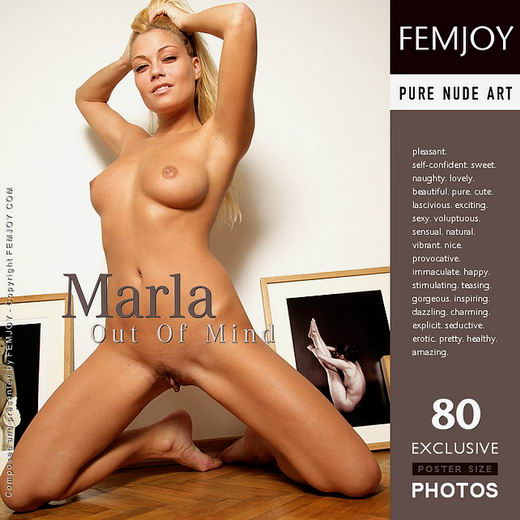 Marla - `Out of Mind` - by Peter Vlcek for FEMJOY