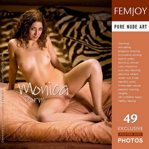 Monica - `Dorm` - by Demian Rossi for FEMJOY