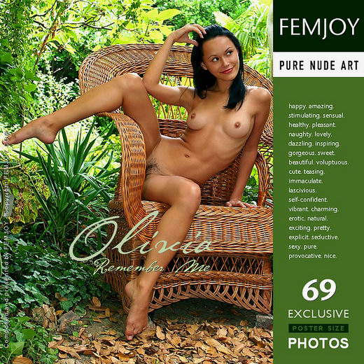 Olivia - `Remember Me` - by Valery Anzilov for FEMJOY