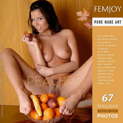 Peaches - `Juicy Fruits` - by Andi Polver for FEMJOY