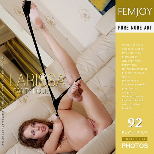 Larissa - `Panty Hose` - by Skokov for FEMJOY