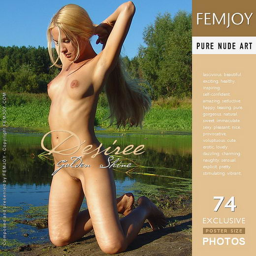 Desiree - `Golden Shine` - by Arev for FEMJOY