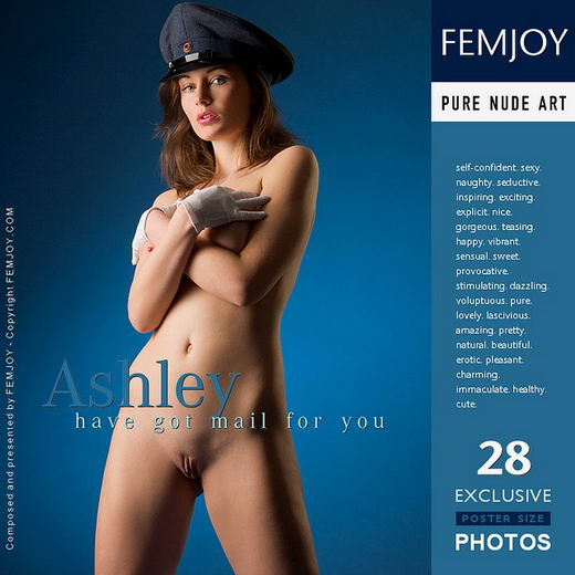 Ashley - `Have Got Mail For You` - by Stefan Soell for FEMJOY