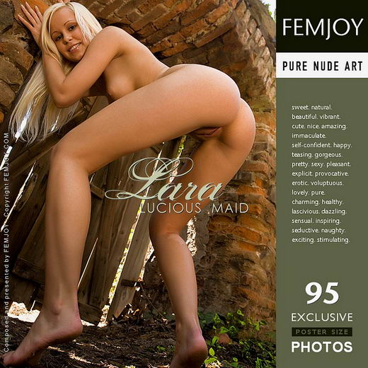 Lara - `Lucious Maid` - by Demian Rossi for FEMJOY
