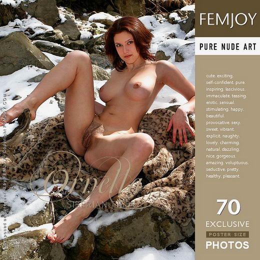 Ornella - `Siberian Tiger` - by Valery Anzilov for FEMJOY