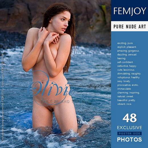 Olivie - `The Girl And The Sea` - by Demian Rossi for FEMJOY