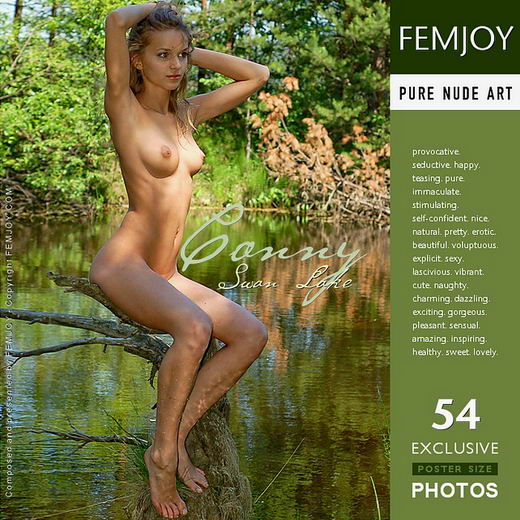 Conny - `Swan Lake` - by Georg for FEMJOY
