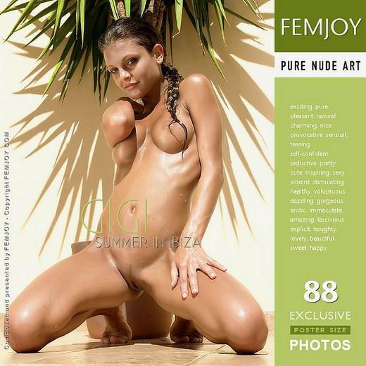 Gigi - `Summer In Ibiza` - for FEMJOY