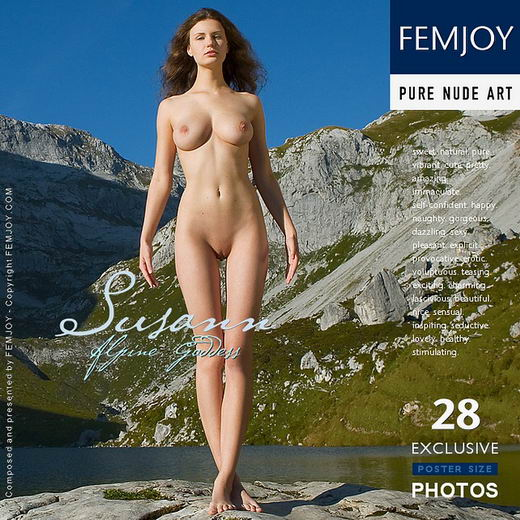 Susann - `Alpine Goddess` - by Stefan Soell for FEMJOY
