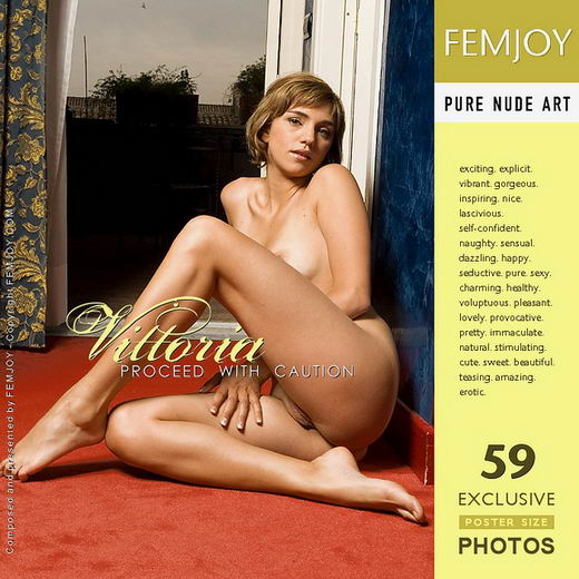 Vittoria - `Proceed With Caution` - by Lorenzo Renzi for FEMJOY
